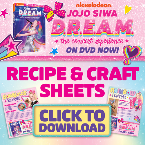 Super Cute JoJo Siwa D.R.E.A.M. Craft & Recipe