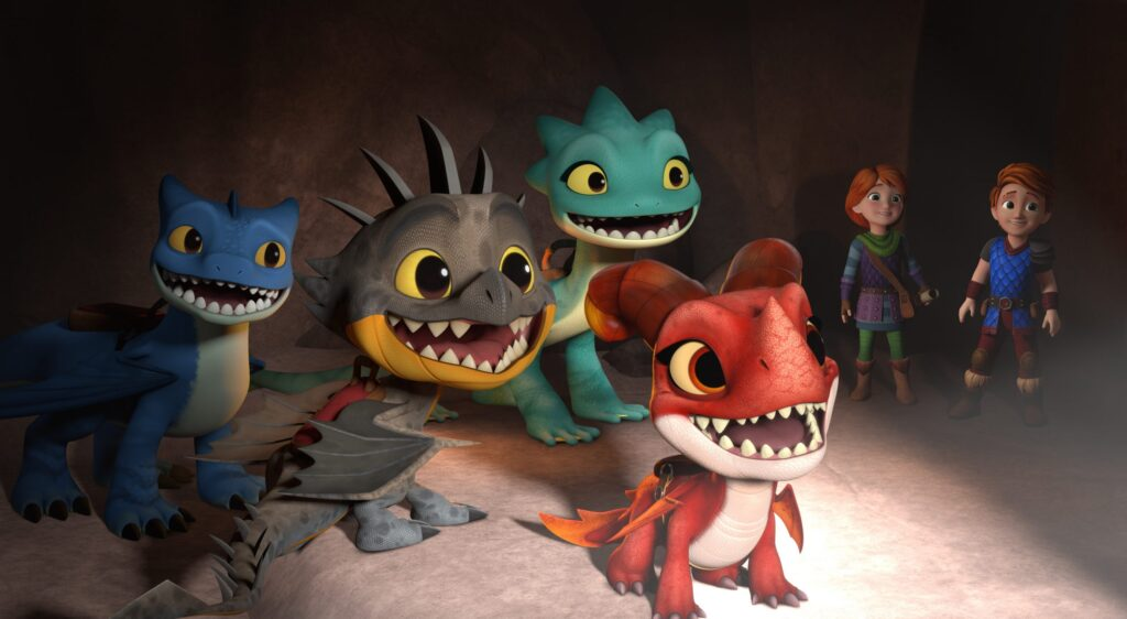 DreamWorks Dragons Rescue Riders: Hunt for the Golden Dragon Special