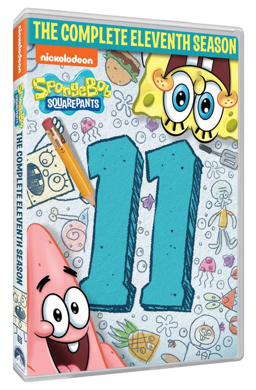 spongebob squarepants 11th season dvd