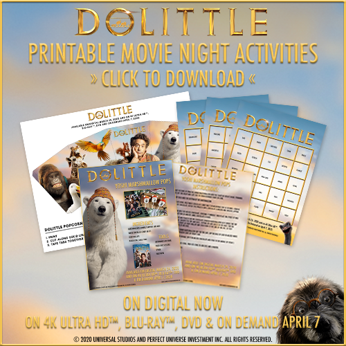 dolittle activity sheets
