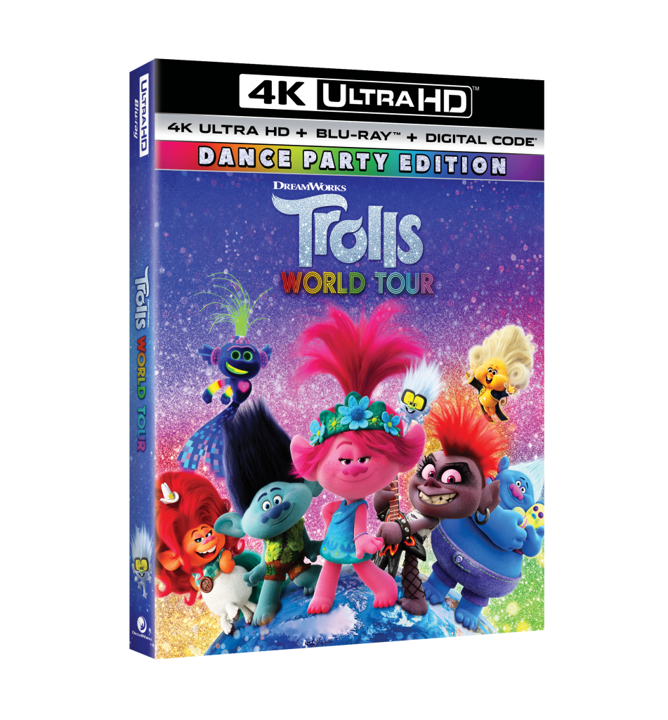 trolls world tour bluray