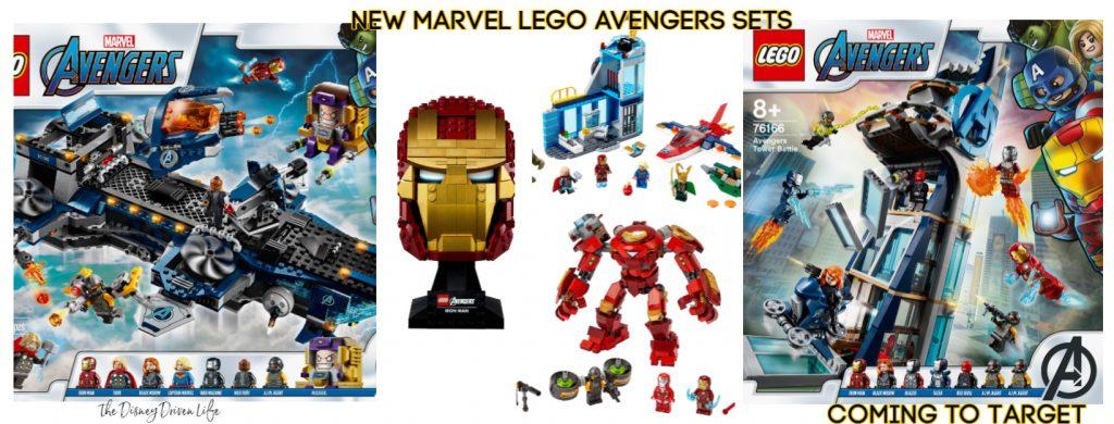 marvel Lego avengers sets