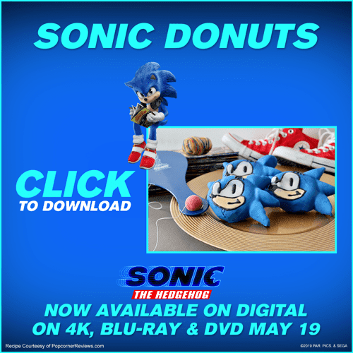You Donut Want To Miss This Sonic Themed Recipe Trivia The Disney Driven Life