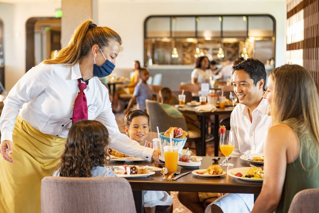 Health and Safety Measures at Walt Disney World Resort Restauran