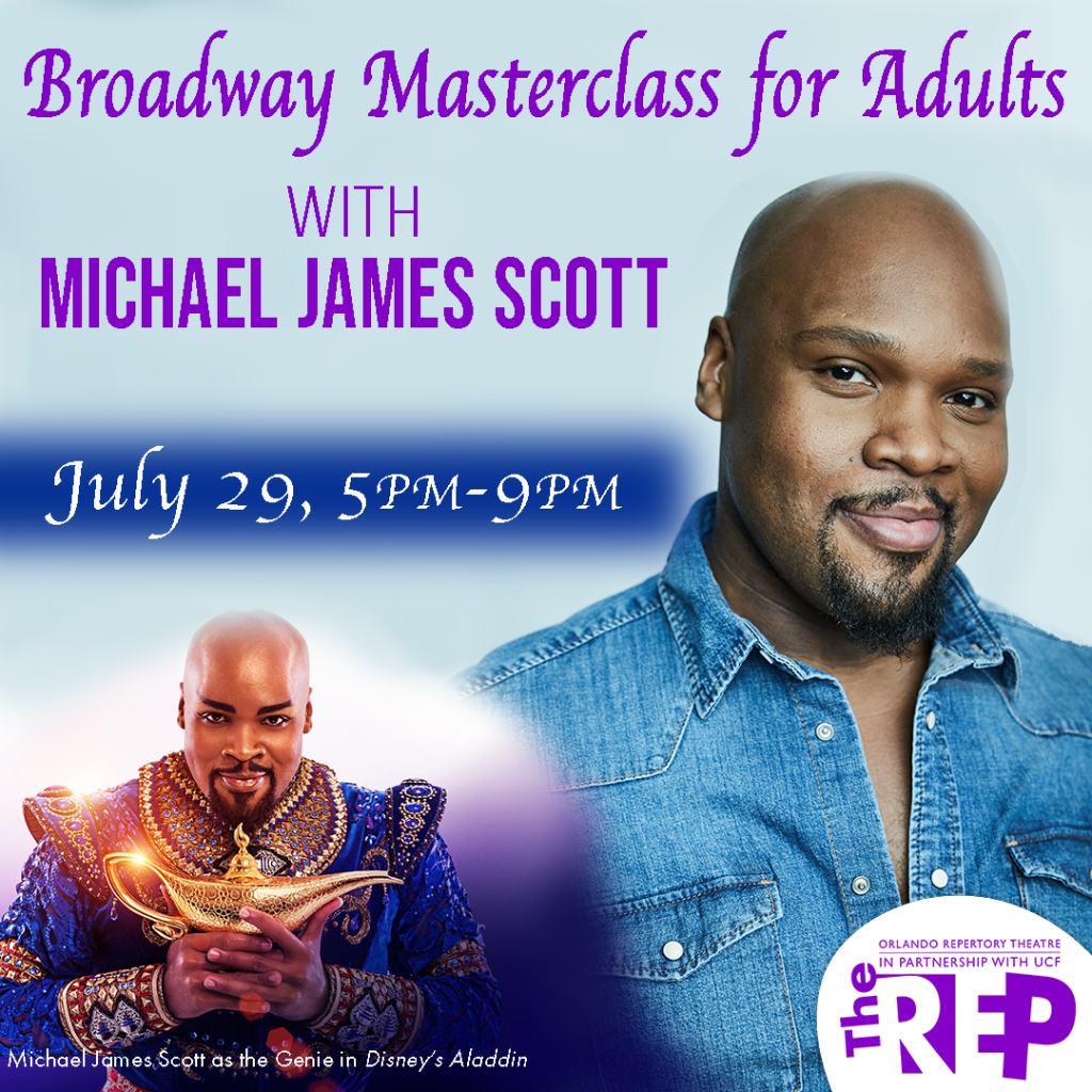 Michael James Scott Adult Musical Theater Class Orlando Rep