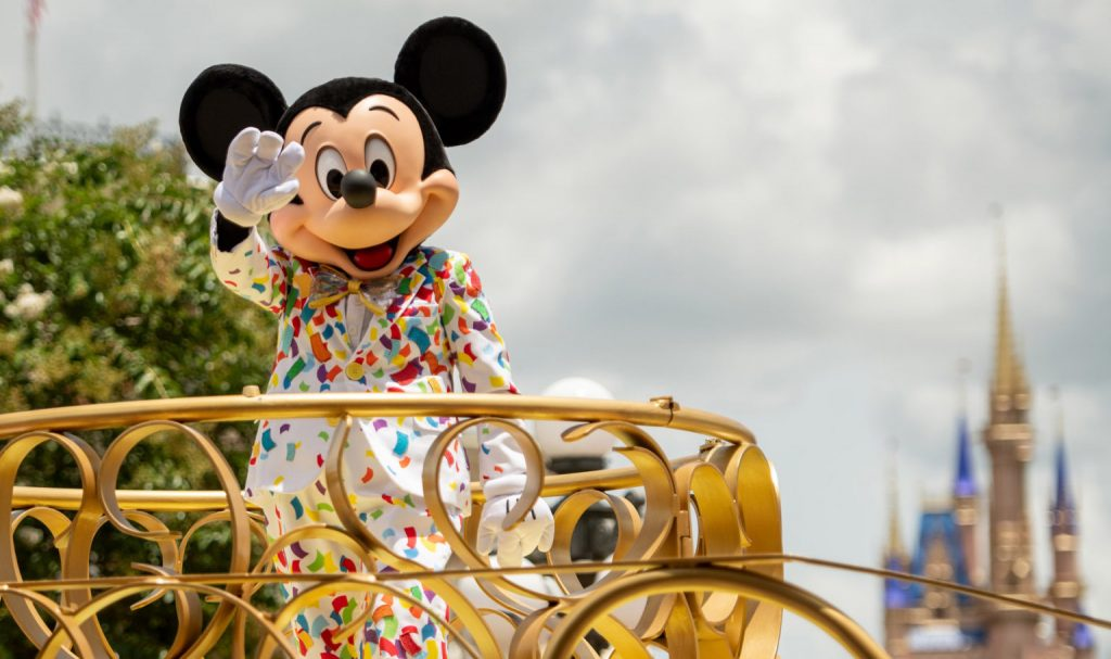 'Mickey and Friends Cavalcade' at Magic Kingdom Park