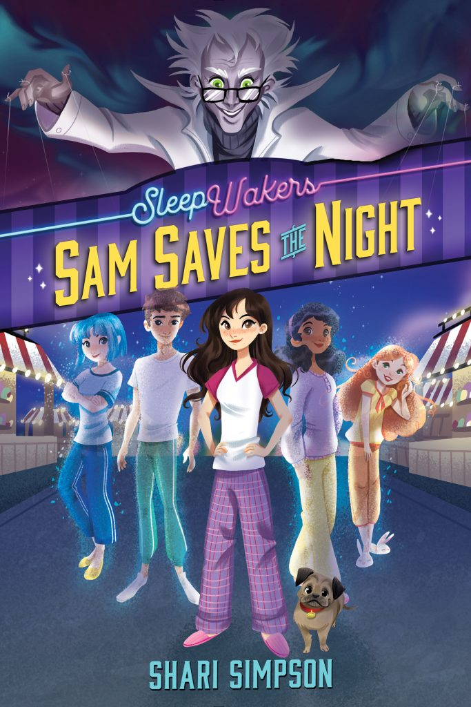 sleepwakers sam saves the night
