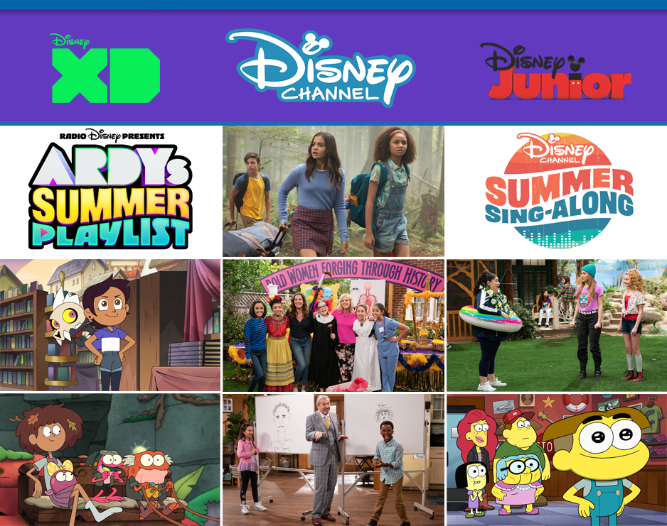 Disney Channel Disney Junior July 2020