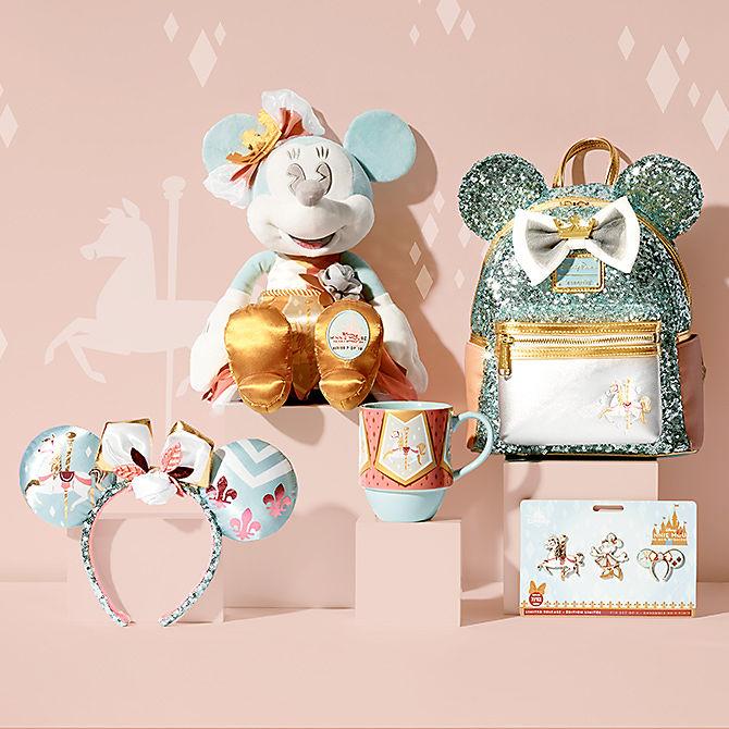 Minnie Mouse The Main Attraction King Arthur Carrousel