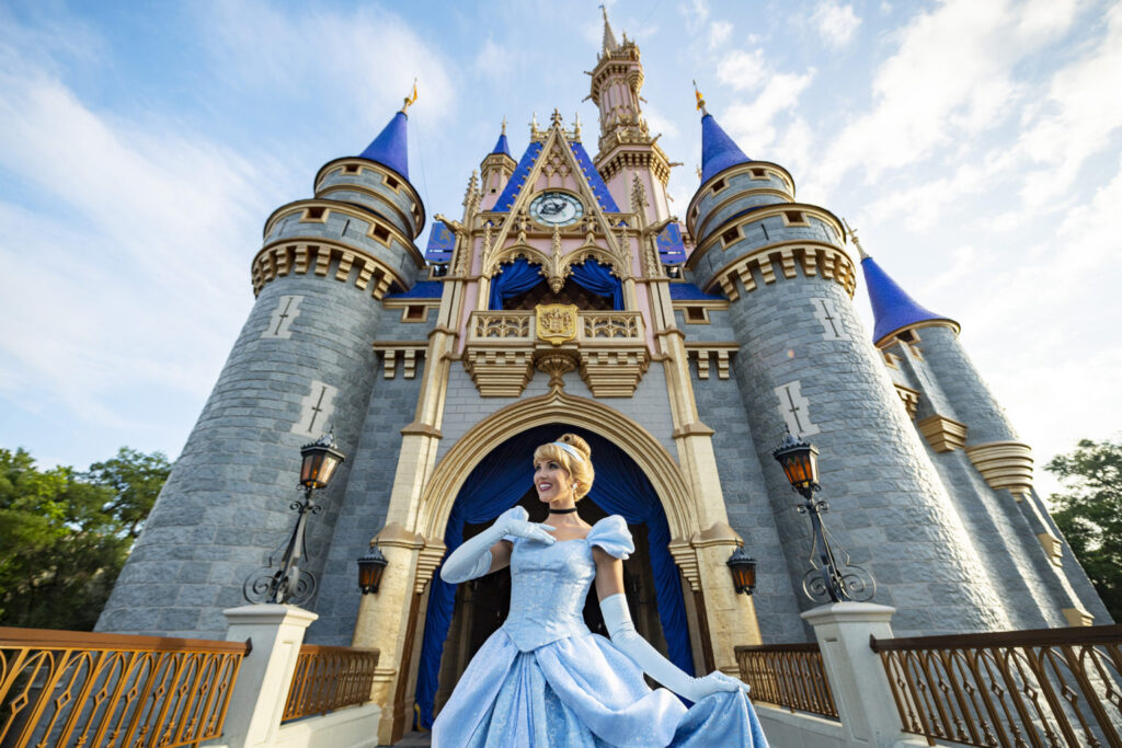 Cinderella Castle Receives Royal Makeover at Magic Kingdom Park Walt Disney World