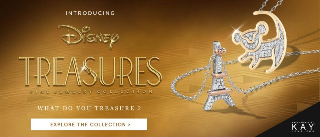 disney treasure Kay Jewelers