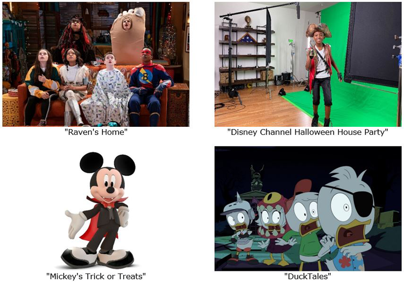 Disney Halloween programming