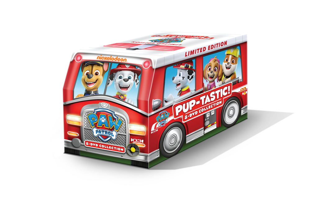 paw patrol pup-tastic collection