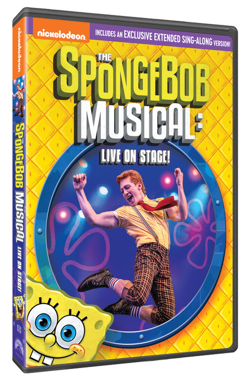 The Spongebob musical DVD