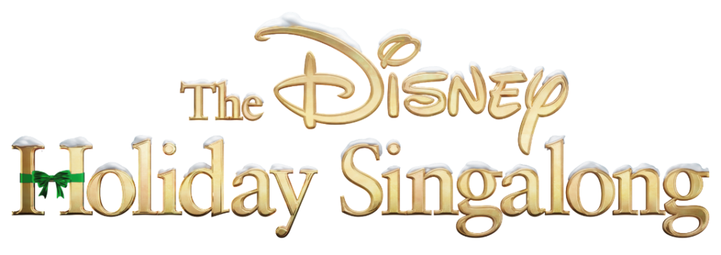 disney holiday singalong