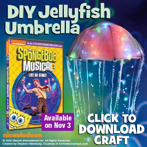 jellyfish umbrella spongebob