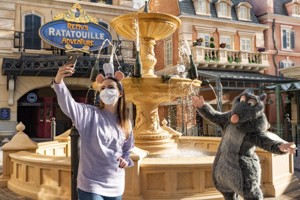 Disney Gives 'Ratatouille' Fan Sneak Peek of New EPCOT Attractio