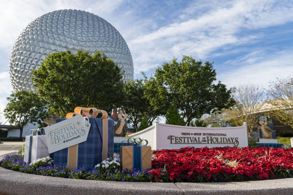 Taste of EPCOT International Festival of the Holidays Presented