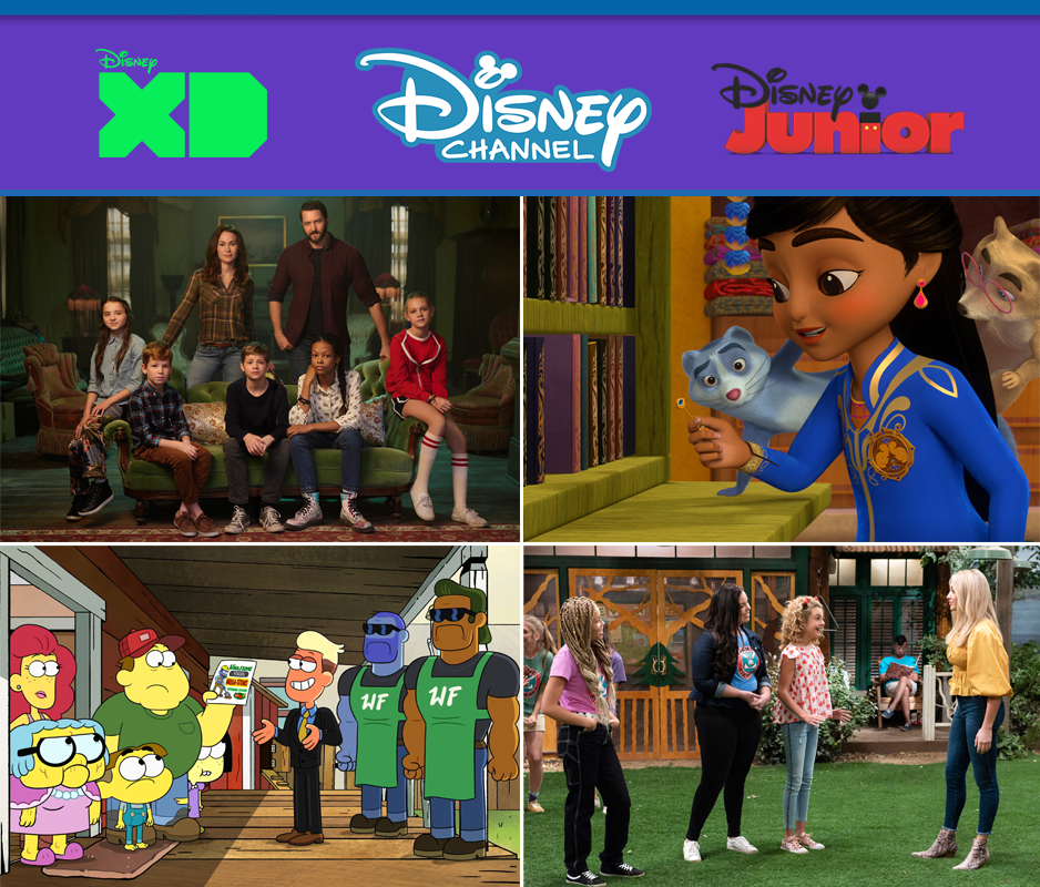 Disney Channel Disney Junior January 2021
