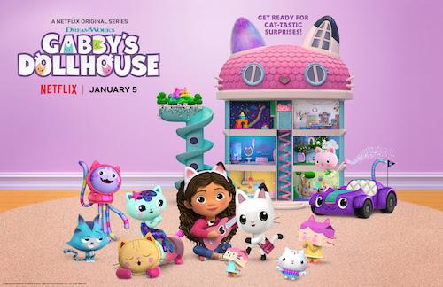 gabby's dollhouse Netflix