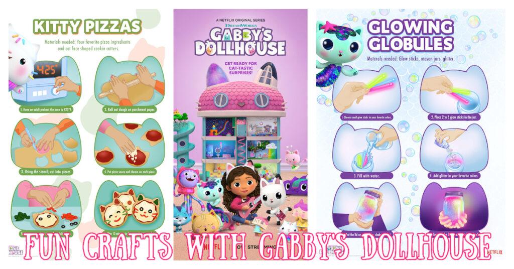 Gabby dollhouse crafts