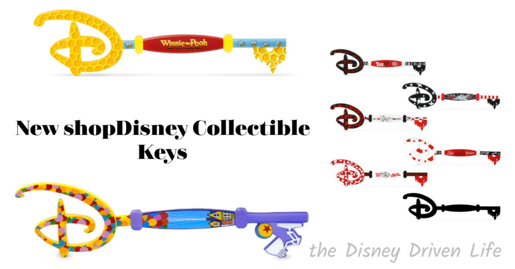 New shopDisney Collectible Keys