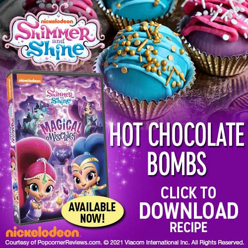 Shimmer and shine Hot Chocolate Bombs