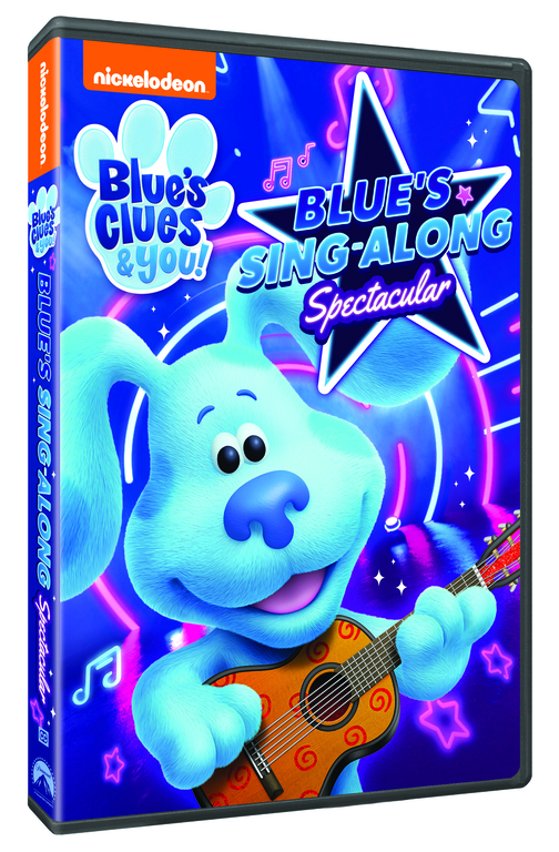 Blue's Clues and You Blue's Sing Along Spectacular