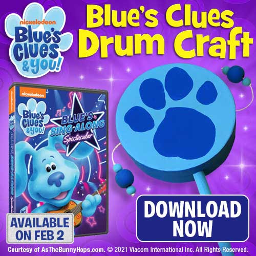 Blues Clues Drum