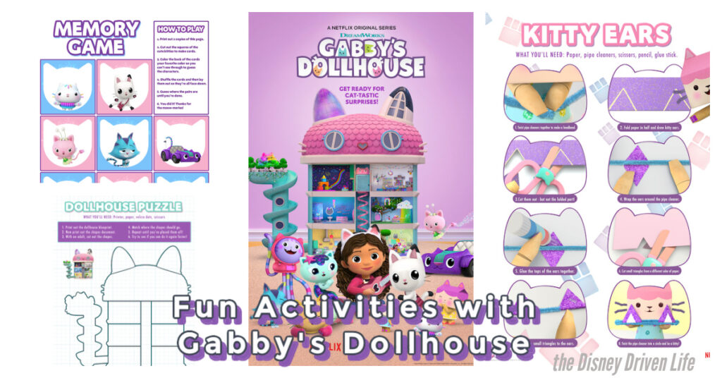 Gabby Dollhouse activities