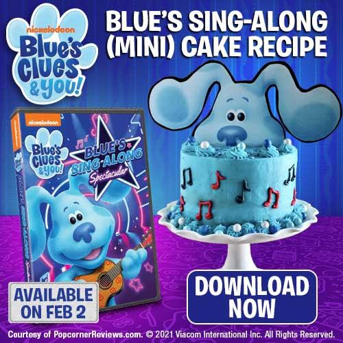Blue's Clues Mini Cake