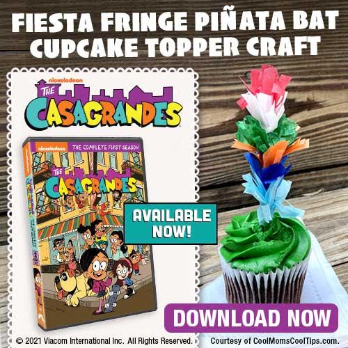 casagrandes cupcake topper