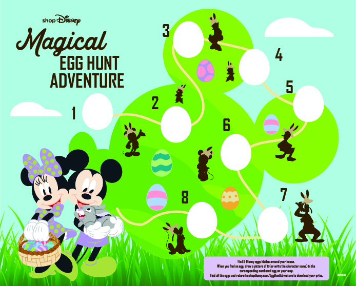 shopdisney Magical Egg Hunt Adventure