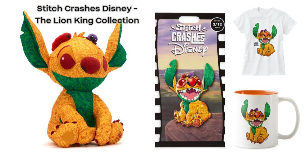 Stitch Crashes Disney Lion King