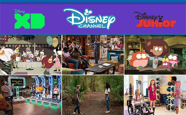 Disney Channel, XD, Junior March 2021