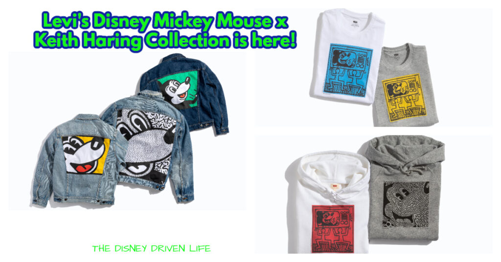 Mickey Mouse x Keith Haring is Now at Levi's | the Disney Driven Life