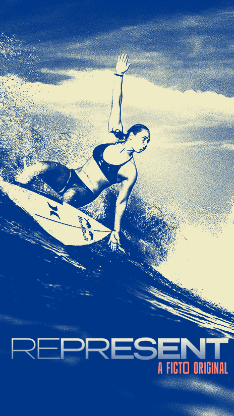 Represent Women's Olympic Surfing