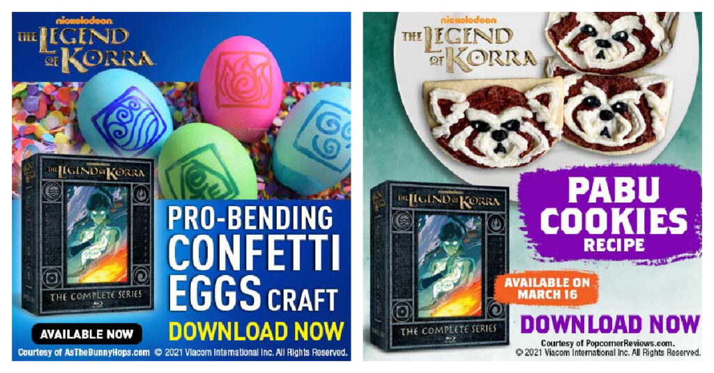 legend of Korra easter