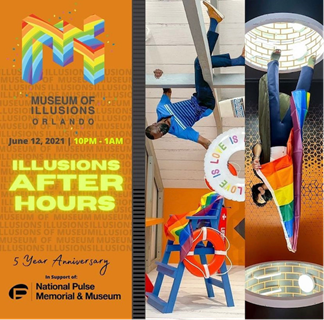 """Museum of Illusions Orlando Presents """"Illusions After Hours"""""""