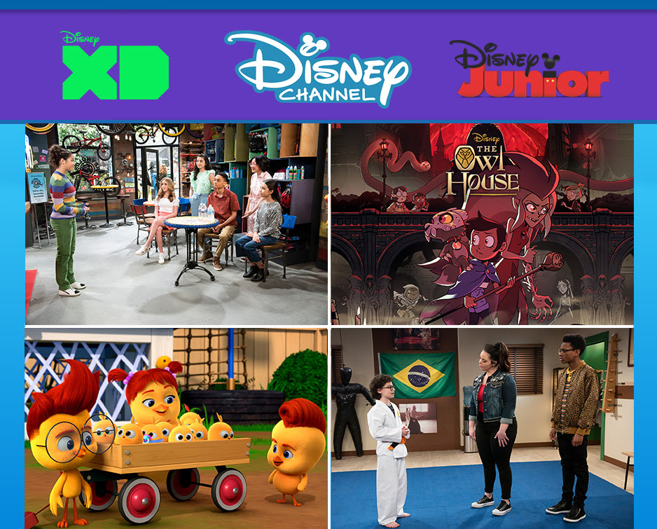Disney Junior Disney Channel June 2021