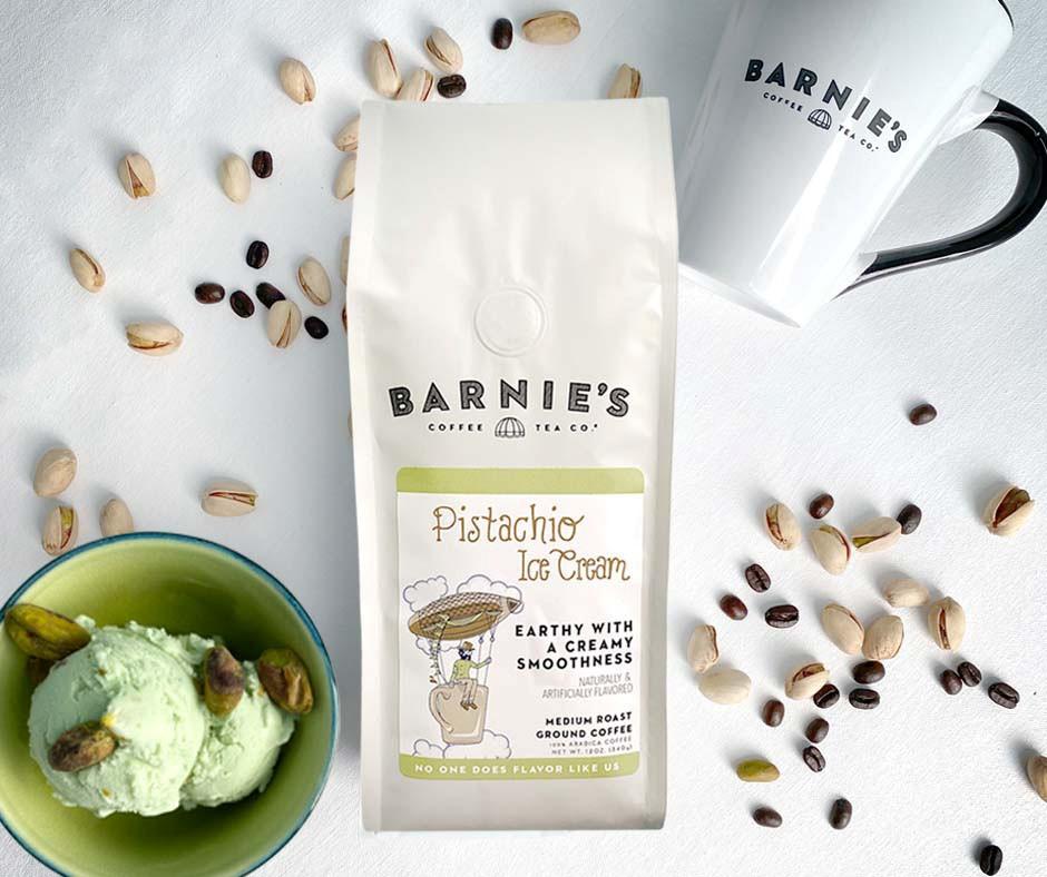 Barnie's Pisachio Ice Cream