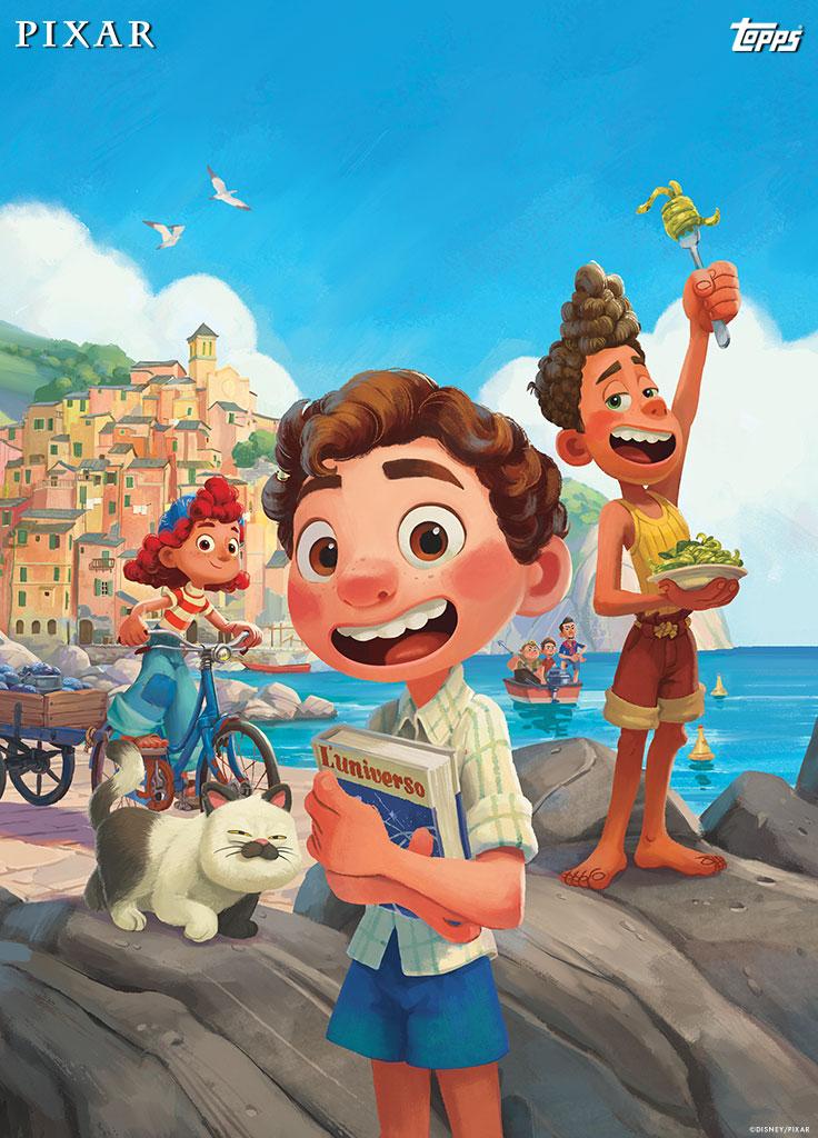 Disney Luca Topps card 2021