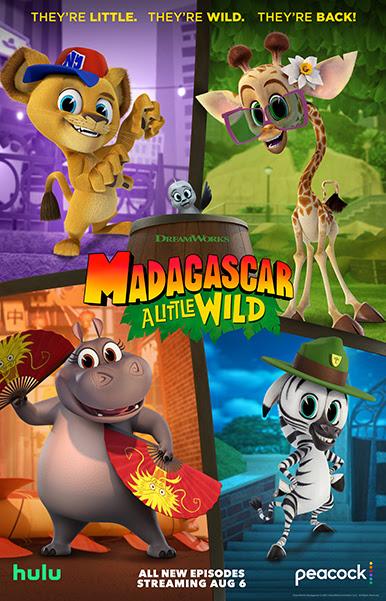 madagascar a little wild season 4
