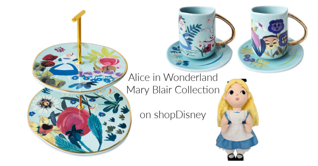 Alice in wonderland Mary Blair collection
